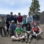 On the shoulder of Cinder Cone